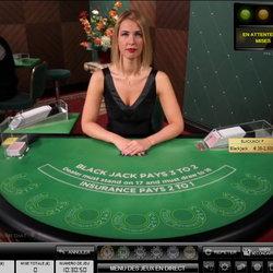 Blackjack en ligne sur casino en live