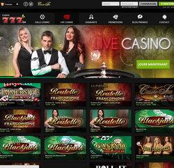 Casino777 : #1 des live casino Belgique