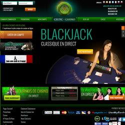 Celtic Casino, croupiers live en studio