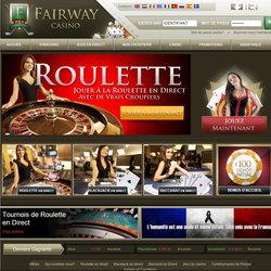 Fairway Casino: Croupiers en live