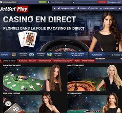 Jetsetplay, expert en live casino