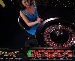 Roulette en ligne avec croupier en live