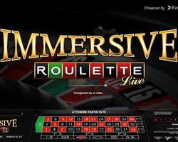 Roulette Immersive, meilleure roulette en ligne Evolution Gaming