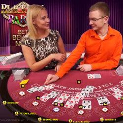 Blackjack Party est une table de live blackjack Evolution Gaming