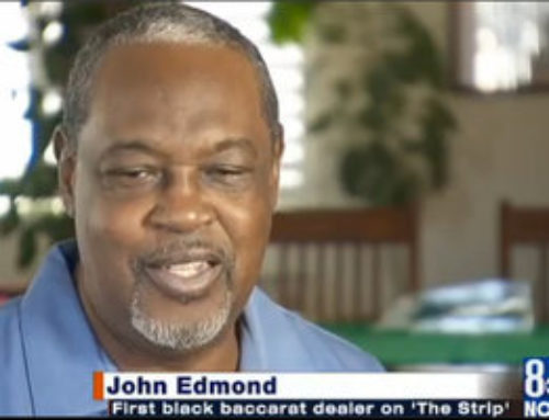 John Edmond: premier croupier noir de Las Vegas