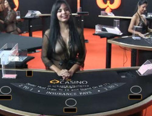 Pornhub Casino, les croupières nues en live