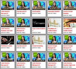 Tables en live Evolution Gaming sur Lucky31 Casino