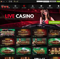 Avis sur Casino777, le casino en ligne legal Belge