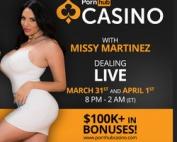 Missy Martinez sur Pornhub Casino