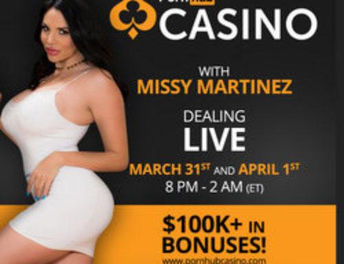 Croupières de Pornhub Casino, le live chic et sexy