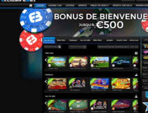 Bonus Exclusivebet Casino: Plus de bonus et moins de contraintes