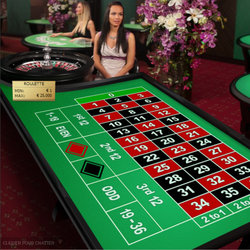 Avis sur Casino Extra: exemple de table de roulette en ligne