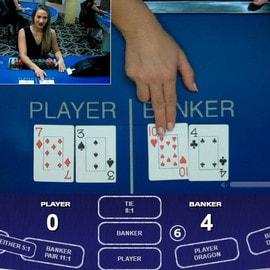 Table de baccarat en ligne sur Celtic Casino