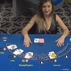Table de blackjack en ligne sur Celtic Casino