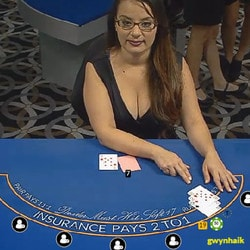 Blackjack live de Fairway Casino et ses croupiers en direct