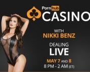 Nikki Benz sur PornhubCasino