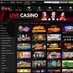 Casino777 est le casino en ligne de Spa