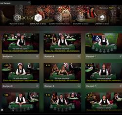 live blackjack sur Dublinbet Casino
