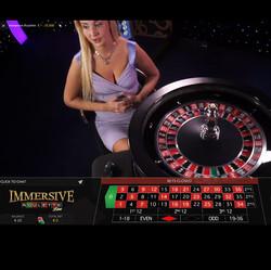 Roulette Immersive, une des meilleures roulette en ligne