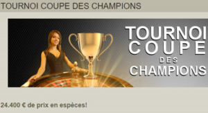 Tournoi de blackjack sur Fairway Casino