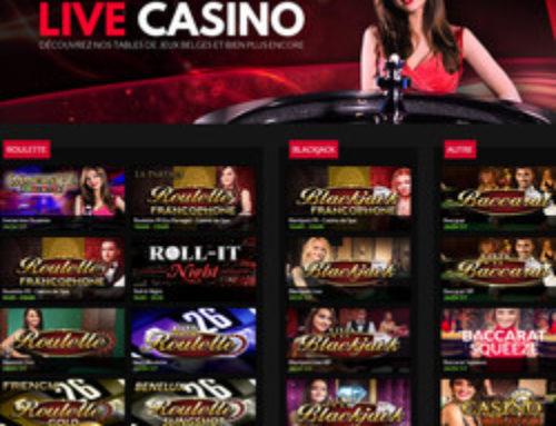 Casino777 ne propose plus de live roulette et blackjack du Casino de Spa