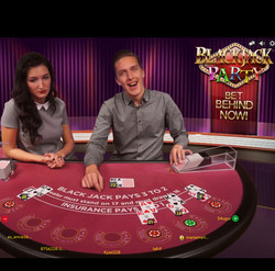 Live Blackjack Evolution Gaming: Blackjack Party