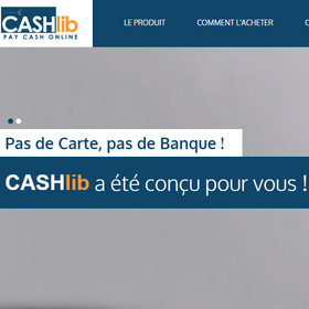 Cashlib disponible sur Casino Extra