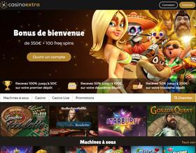 Nouvelle identité graphique de Casino Extra