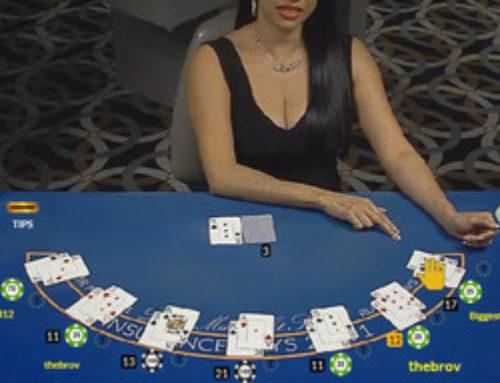Tournoi de tables en live sur Fairway Casino