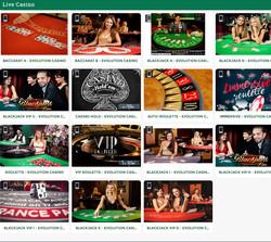 Croupiers en direct de Cresus Casino