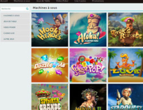 Oscar Bianca se dote de jeux de 6 logiciels casino