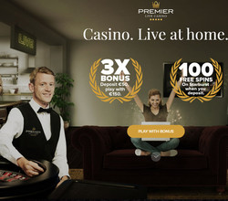 Premier Live Casino: # 1 croupiers en direct