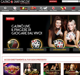 Roulette en ligne en direct du Casino Saint Vincent