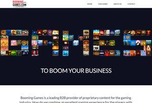 Booming Games, logiciel de jeux de casino