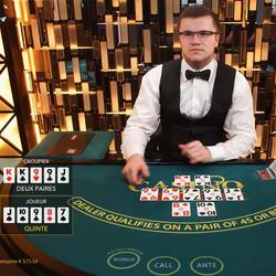 Casino Holdem en live