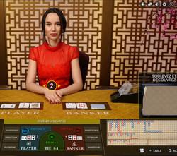 Baccarat Control Squeeze un des Jeux Evolution Gaming sur Dublinbet