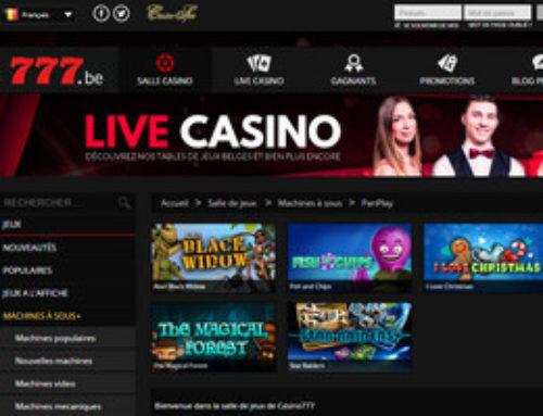 Les jeux Pariplay intègrent Casino777
