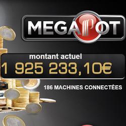 Le jackpot progressif Partouche Megapot est tombé au casino de la Tremblade