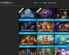 Logiciel Playson: fournisseur de jeux de casino