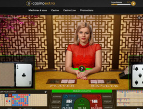 Baccarat Control Squeeze sur Casino Extra