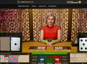 Baccarat Control Squeeze sur Casino Extra