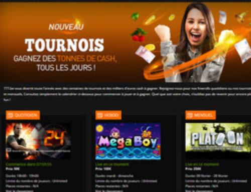 Bonus Casino777: casino légal belge généreux