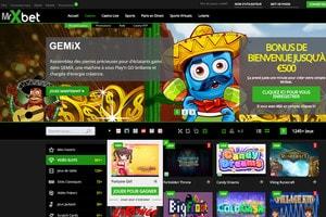 Mister Xbet sur Casino en Live dispose de 7 logiciels live