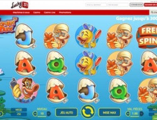 Machine à sous Scruffy Duck sur Lucky31 Casino