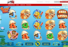 Machine à sous Scruffy Duck sur Lucky31 Casino