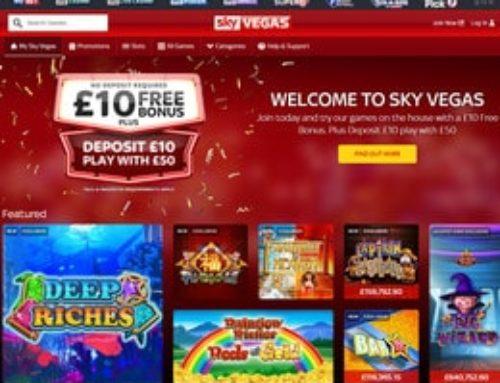 Gros jackpot progressif en ligne de 3,1 millions £ décroché sur Sky Vegas casino