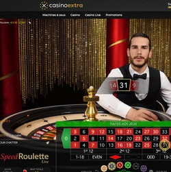 Speed Roulette Evolution Gaming est la table de roulette en ligne la plus rapide du Net