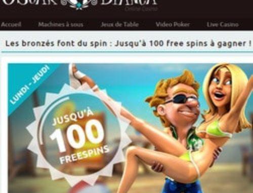 Promo Oscar Bianca Casino: 4 jours pour en profiter!