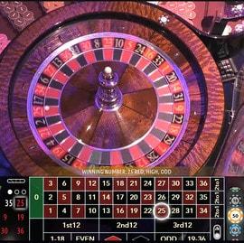 Roulette en direct du Casino International de Batumi