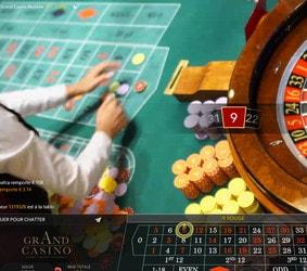 Croissance des tables de casinos en live